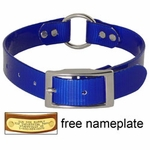 shop BLUE 1 in. Day Glow Center Ring Collar