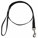 buy discount  Black 3/4in. x 4ft. 1-Ply Nylon Leash