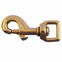 "buy discount  Bolt Snap / Flat Eye -- Brass 3 1/8"" Long"