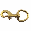 "buy discount  Bolt Snap / Round Swivel Eye -- Brass 3 5/8"" Long"