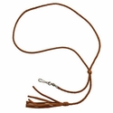 buy discount  Braided Kangaroo Leather Lanyard -- Single Snap