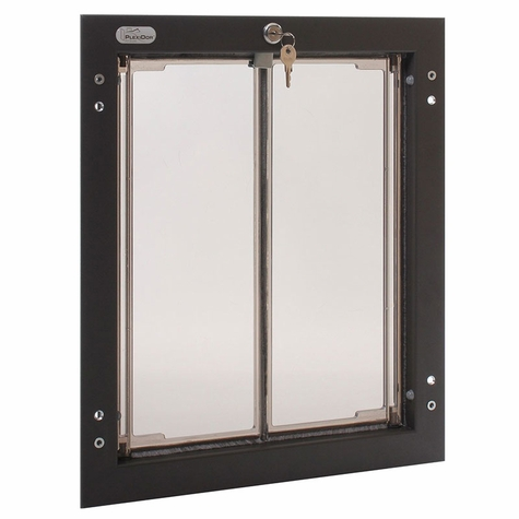 BRONZE Large Plexidor Wall Mount Dog Door