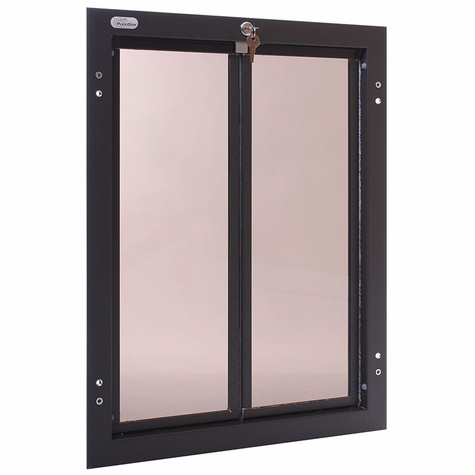 BRONZE X-Large Plexidor Door Mount Dog Door