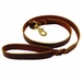 Brown 4' Latigo Twist Leash