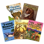 shop Buy All 5 Outdoor Youth Adventures Coloring Books