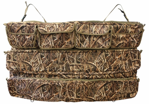Mud River Ducks Unlimited Blades Camo Truck Seat Organizer
