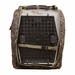 Camo Uninsulated Kennel Cover Front Flap Open