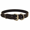 buy discount  CLEARANCE -- BLACK 3/4 in. K-9 Komfort TransFlex 2-Groove D-End Puppy / Small Dog Collar