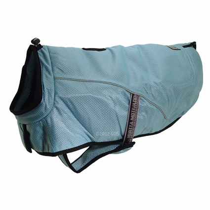 CLEARANCE -- BLUE Hurtta Dog Cooling Coat