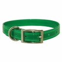buy discount  CLEARANCE -- GREEN 3/4 in. K-9 Komfort TransFlex 2-Groove Standard Puppy / Small Dog Collar