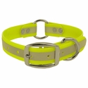 CLEARANCE -- K-9 Komfort 3/4 in. Reflective Center Ring Puppy Collar -- 12 inch