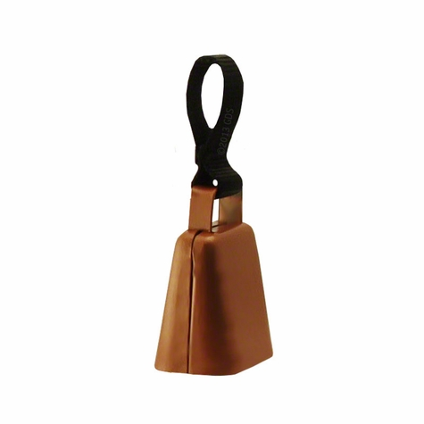 Copper Finish Collar Bell with Nylon Loop -- Large