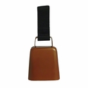 buy discount  Copper Collar Bell with Nylon Loop Front View