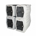 buy discount  Dog Crate Coupler stacked in use
