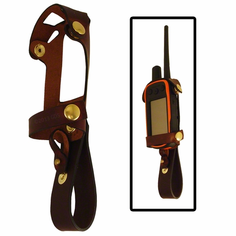 Coyote Leather Garmin Alpha Transceiver Holster