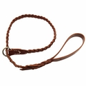 buy discount  Coyote Leather Braided Slip Lead