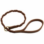 shop Coyote Leather  Woven Slip Lead