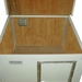 Cube Dog House Open Lid