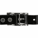 buy discount  3/4 in. Day Glow Center Ring Puppy/Small Dog Collar Back of Buckle Detail