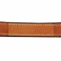 buy discount  Deluxe Leather Dog Collar Inside Stitching Detail