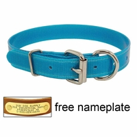 buy discount  CLEARANCE -- 1 in. K-9 Komfort TransFlex 2-Groove D-end Dog Collar