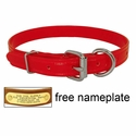 buy discount  CLEARANCE -- 3/4 in. K-9 Komfort TransFlex 2-Groove D-End Puppy / Small Dog Collar
