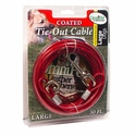 buy discount  Dog Coated Tie-Out Cable Box -- Large 30 ft. by OmniPet