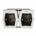 buy discount  Dog Crate Coupler Kit side-by-side In Use