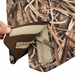 Mud River Ducks Unlimited Deluxe Dog Vest Zipper and Velcro Detail