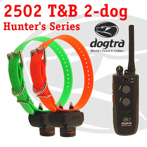 Dogtra 2502 T&B Training and Beeper 2-dog Unit