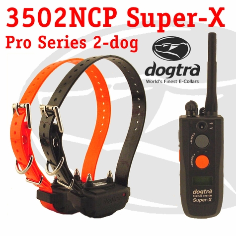 Dogtra 3502 NCP Super-X 2-dog