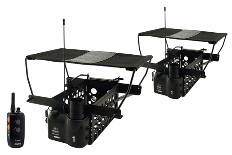 Dogtra Remote System w/ 2 Quail Launchers QLD-2