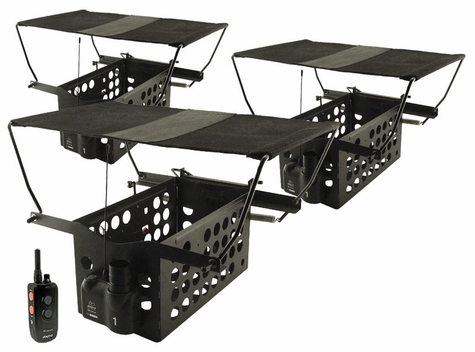 Dogtra Remote System w/ 3 Pheasant Launchers PLD-3