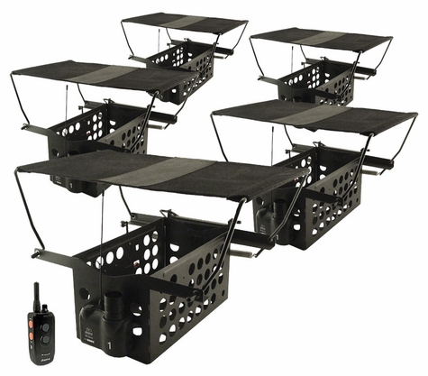 Dogtra Remote System w/ 5 Pheasant Launchers PLD-5