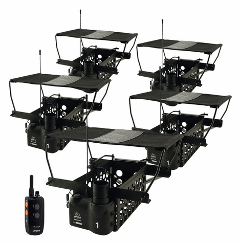 Dogtra Remote System w/ 5 Quail Launchers QLD-5