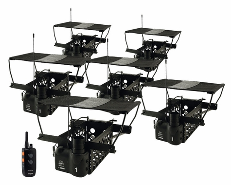 Dogtra Remote System w/ 6 Quail Launchers QLD-6