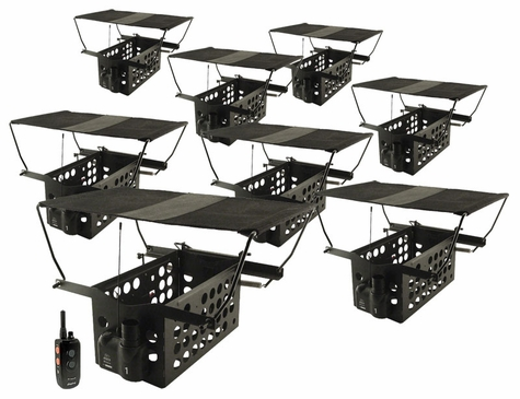 Dogtra Remote System w/ 8 Pheasant Launchers PLD-8