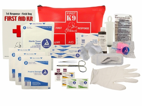 Dokken 1st Response Deluxe Field Dog First Aid Kit