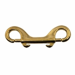 "shop Double-End Bolt Snap -- Brass 4"" Long"