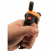 DT Systems R.A.P.T. 1450 Upland Transmitter In Hand Red Button Top