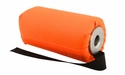 DT Systems Super Pro Feather-Weight 6 in Blaze Orange Flutter Launcher Dummy with Black Streamer