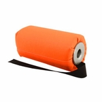 shop DT Systems Super Pro Feather-Weight 6 in Blaze Orange Flutter Launcher Dummy with Black Streamer