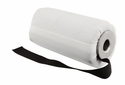 DT Systems Super Pro Feather-Weight 6 in Bright White Flutter Launcher Dummy with Black Streamer