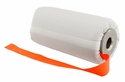 DT Systems Super Pro Feather-Weight 6 in Bright White Flutter Launcher Dummy with Orange Streamer