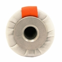 buy discount  DT Systems Super Pro Feather-Weight 6 in Bright White Flutter Launcher Dummy with Orange Streamer