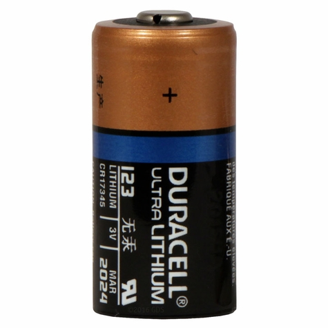 Duracell 123 3 Volt Lithium Replacement Battery
