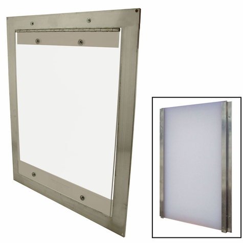 Easy Pet Door with Closure Panel