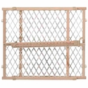 buy discount  Evenflo Position & Lock Gate Wood / White Mesh - G202
