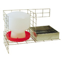 shop Feed & Water Kit for PT3516/KD/S Pigeon Trap PT/W/F/8 by SW Cage