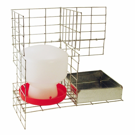 Feed & Water Kit for PT4022/KD/S Pigeon Trap PT/W/F/12 by SW Cage